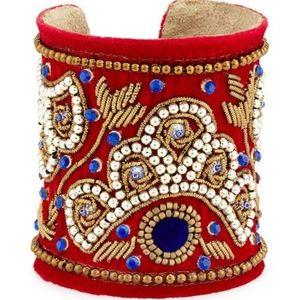 Chamak by Priya Kakkar statement cuff bracelet